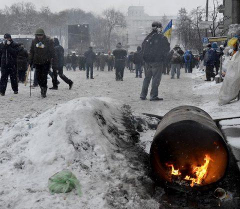 Майдан, захват зданий